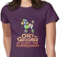 Obey The Groomer Womens Fitted T-Shirt