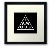 Famous - Cool Shirt Framed Print