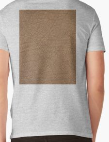 LEATHER LOOK, Leather, Antelope, Skin, Texture, Pattern Mens V-Neck T-Shirt