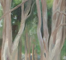 Vermont, shady trees by Barbara Weir