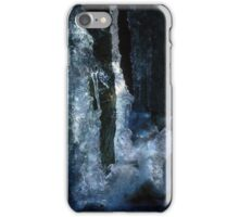 Ice Caves Icicles, Stones, and Hoarfrost iPhone Case/Skin