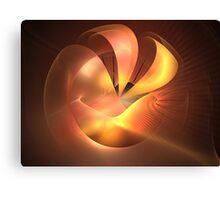 Sunrise Wave Sphere Canvas Print