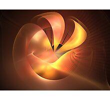Sunrise Wave Sphere Photographic Print