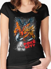 Poke City Women's Fitted Scoop T-Shirt