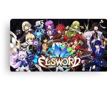 Elsword Game Canvas Print