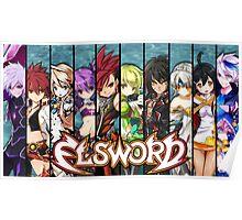 Elsword Charter Poster