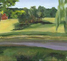 Bennington VT pond by Barbara Weir