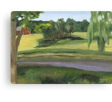 Bennington VT pond Canvas Print