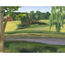 Bennington VT pond Photographic Print