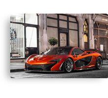McLaren P1 Canvas Print