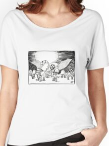Sketch No. 5611 Women's Relaxed Fit T-Shirt