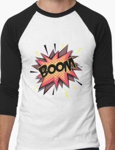 Comic boom. Men's Baseball ¾ T-Shirt