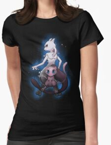Mew - Mewtwo - Pokemon Go Womens Fitted T-Shirt