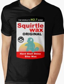 Squirtle Wax Mens V-Neck T-Shirt