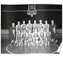 1963 Lowes High School Basketball Team, Lowes, Kentucky Poster