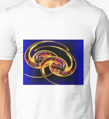 Golden Flashes of Brilliance Unisex T-Shirt