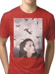 The 100 - Raven Tri-blend T-Shirt