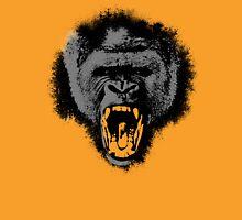 Silver Back Gorilla Scream Unisex T-Shirt