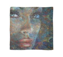 Brilliant Eyes Oriental Scarf