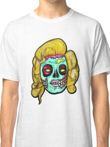 Marilyn: Pop Art Zombie Classic T-Shirt