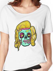 Marilyn: Pop Art Zombie Women's Relaxed Fit T-Shirt