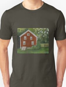 Vermont, red house Unisex T-Shirt