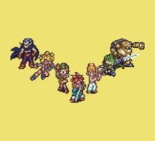 Chrono Trigger - The Team Kids Tee