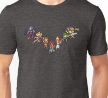 Chrono Trigger - The Team Unisex T-Shirt