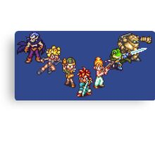 Chrono Trigger - The Team Canvas Print