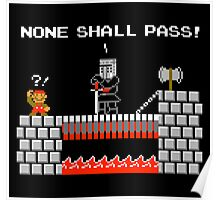 No Plumbers Shall Pass! Poster