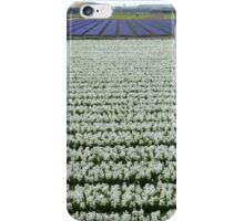 Field of white iPhone Case/Skin