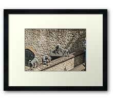 Fortress of the Apes Framed Print