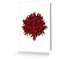 shoots | red Greeting Card
