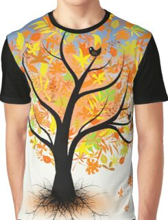 Colorful autumn tree Graphic T-Shirt