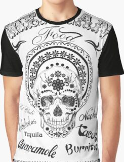 Sugar muertos skull. Graphic T-Shirt