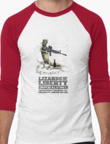 Lizards of Liberty Imperial Stout Men's Baseball ¾ T-Shirt