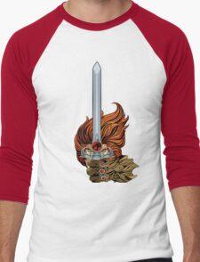 El guerrero león Men's Baseball ¾ T-Shirt