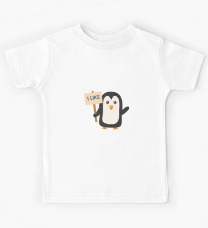 Penguin like   Kids Tee