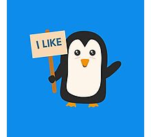 Penguin like   Photographic Print