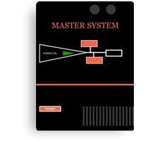 MASTER SYSTEM Canvas Print
