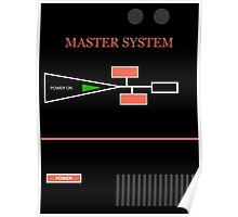 MASTER SYSTEM Poster