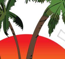 Lindquist Beach St. Thomas Sticker