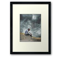 temp-ta-tion Framed Print