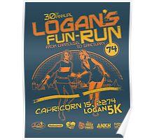 Logan's Fun-Run Poster