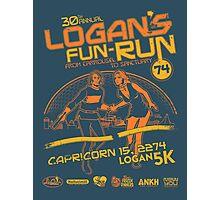 Logan's Fun-Run Photographic Print