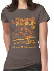 Logan's Fun-Run Womens Fitted T-Shirt