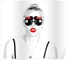 Pop Glasses Poster