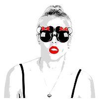 Pop Glasses Photographic Print