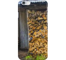 Wood Shed. iPhone Case/Skin