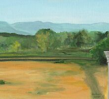 Bennington, pond view by Barbara Weir